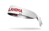 University of Oklahoma: Oklahoma White Tie Headband