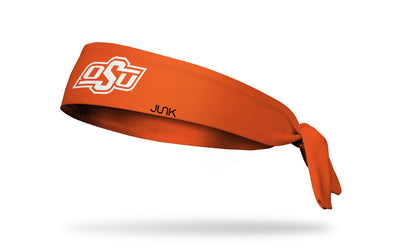 Oklahoma State University: OSU on Orange Tie Headband