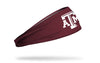 Texas A&M University: A&M Maroon Headband