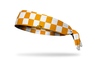 University of Tennessee: Checkerboard Tie Headband