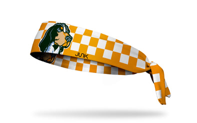 University of Tennessee: Smokey Checkered Tie Headband