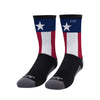 Texas Flag Athletic Crew Sock