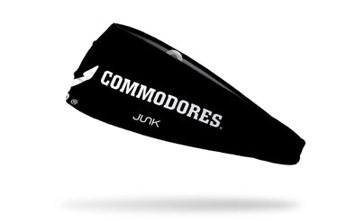 Vanderbilt University: Commodores Drop Anchor Headband