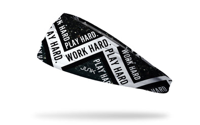 Work Hard Play Hard Headband