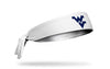 West Virginia University: Logo White Tie Headband