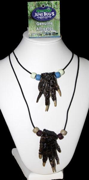 Necklace - Alligator Foot