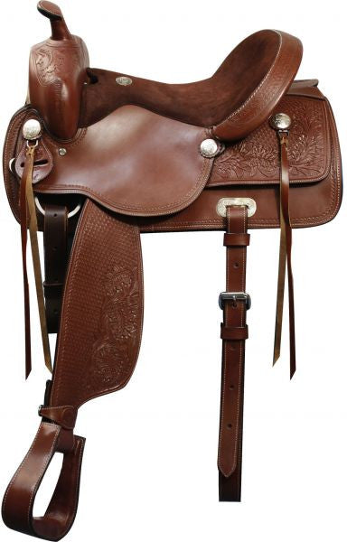 "16"", 17"" Double T Pleasure Style Saddle."