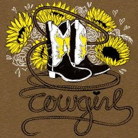 "Tee Shirt ""Cowgirl"""