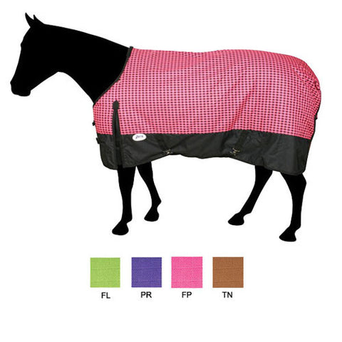 WATER-RESISTANT POLY TURNOUT BLANKET