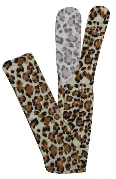 Showman Leopard print slip on tail bag