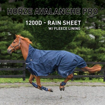 Horze Supreme Avalanche 1200D Lite/Medium Weight Turnout with Fleece