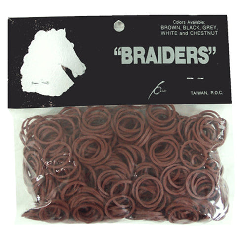 Braid Bands - Brown