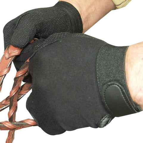 Cotton Pimple Riding Glove