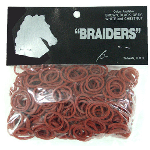Braid Bands - Chestnut