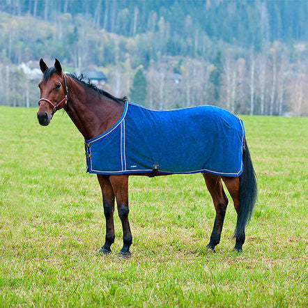 Finn-Tack fleece blanket, with mesh lining