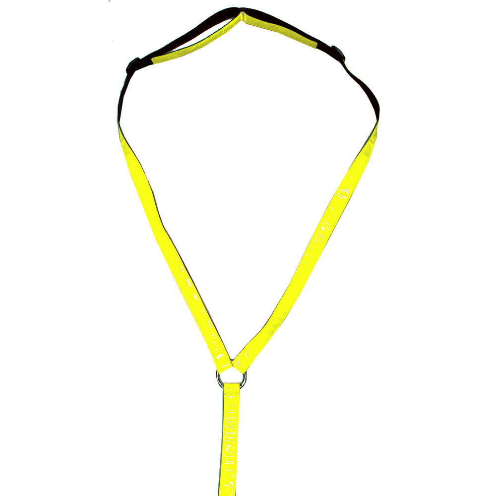 Reflective Breastplate Yellow