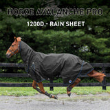 Horze Supreme Avalanche 1200D Lite Weight Combo Turnout