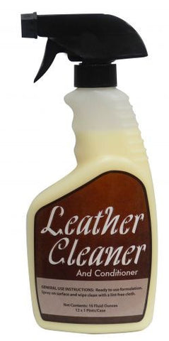 16 fl oz. Leather cleaner and conditioner