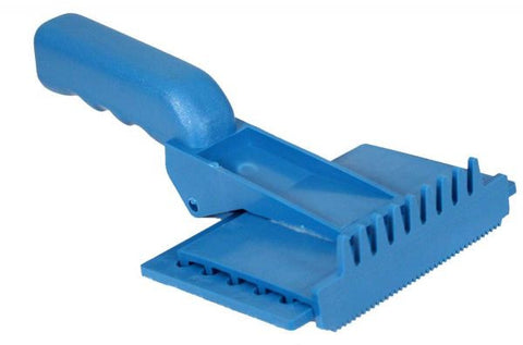 American made easy to clean plastic curry comb
