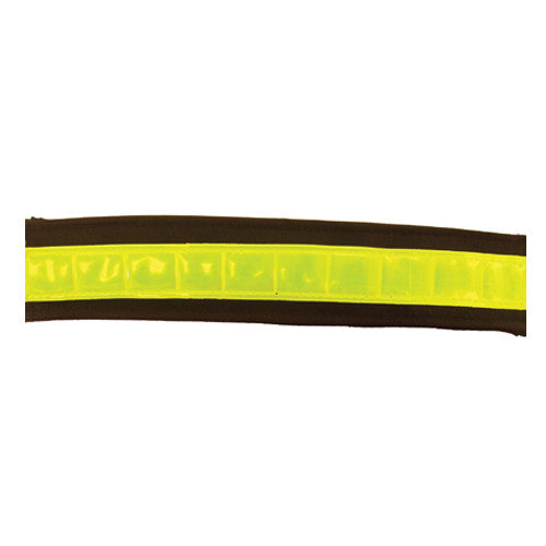 Reflective Bridle strap Yellow