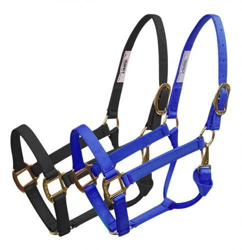 BMB  Premium halter with brass plated hardware