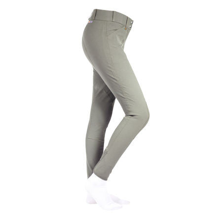 Horze Grand Prix Breeches with Leather Knee Patch, Women's