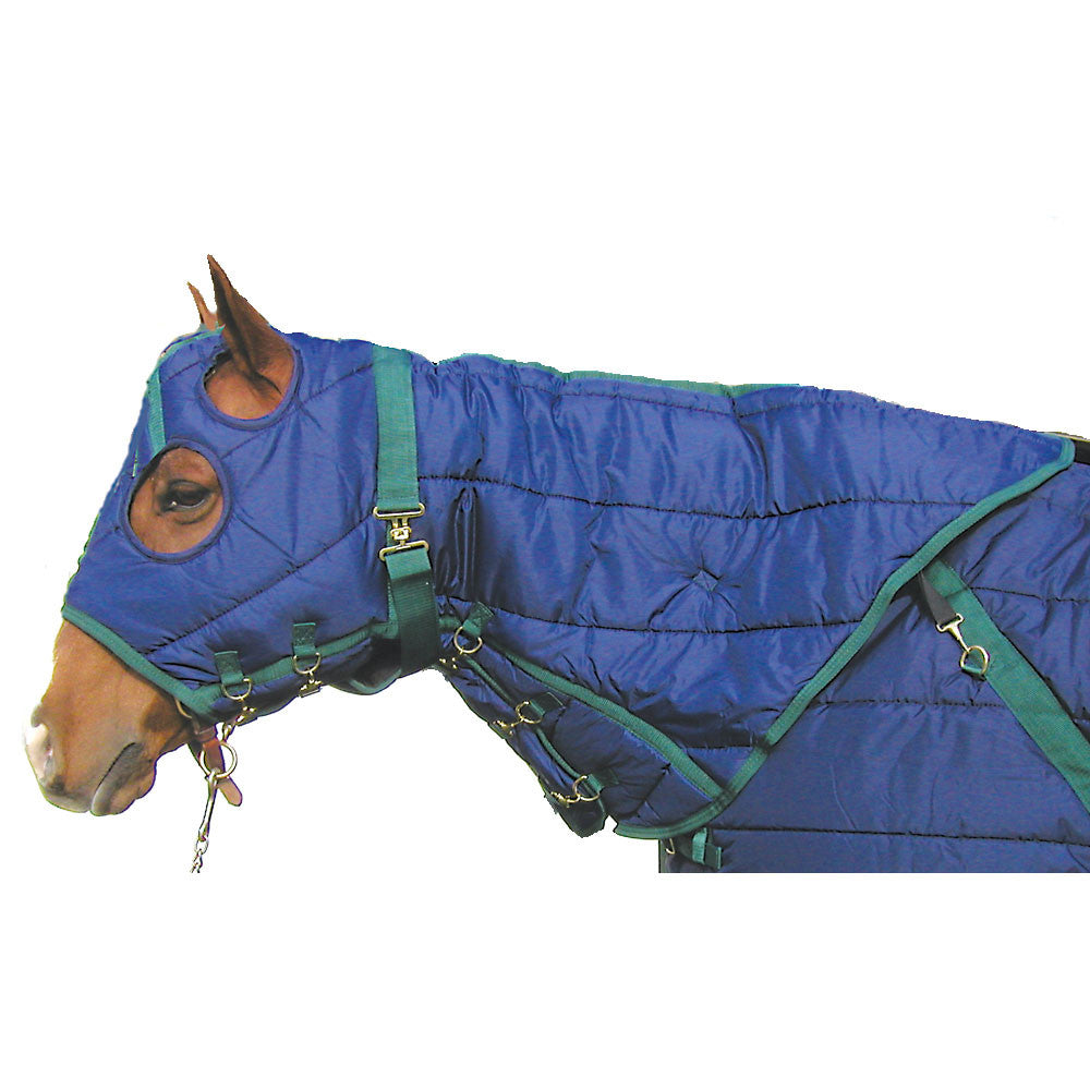 Snuggie Quilted Hood-Navy