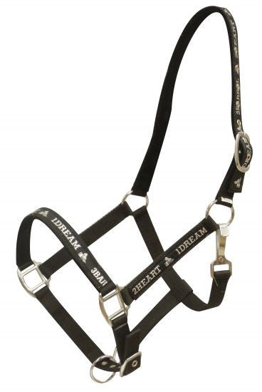 "Nylon "" 3 Barrel, 2 Heart, 1 Dream halter"