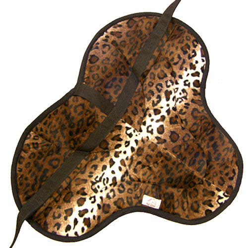 Best Friend English Style Bareback Pad Leopard