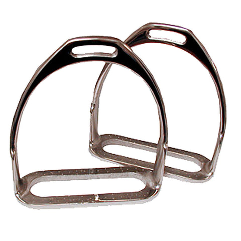 Prussian Polo Stirrup Irons - 5 3/4""