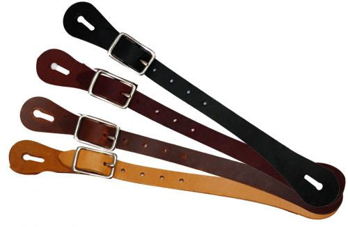 Adult size economy spur strap.