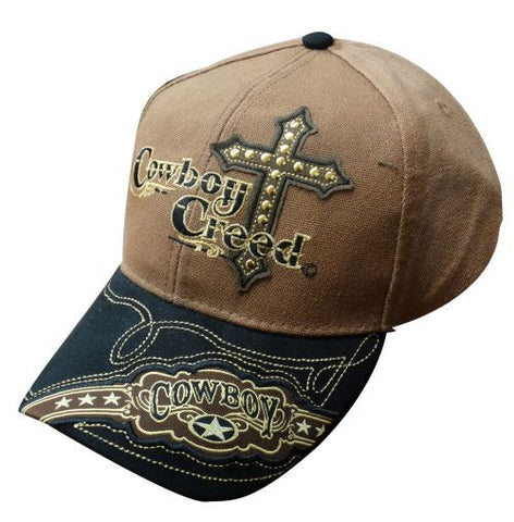 """ Cowboy Creed"" baseball hat"