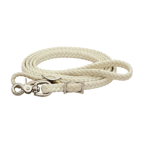 BRAIDED NYLON ROPING REINS