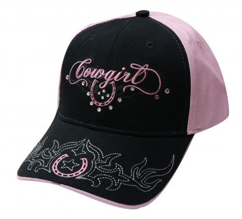 """ Cowgirl"" baseball hat."