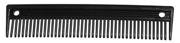 "Mane comb. Plastic mane comb meaures 2"" wide and 9"" long"
