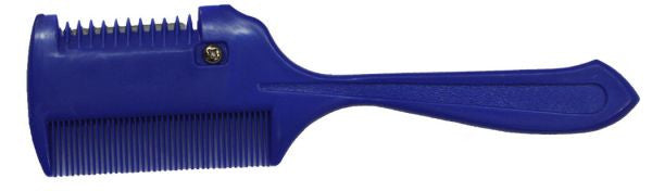 "Thinning comb. Plastic comb measures 2"" wide and 7.5"" long."