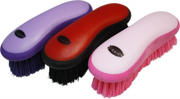 Showman soft grip dandy grooming brush