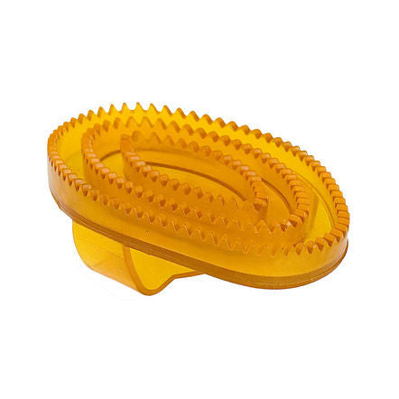 Horze Flexible Rubber Curry Comb, Small
