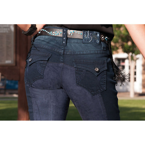 2kGrey Ladies Swirls Full Seat Breech