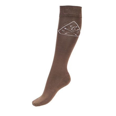 Horze Bamboo-Mix Winter Knee Socks