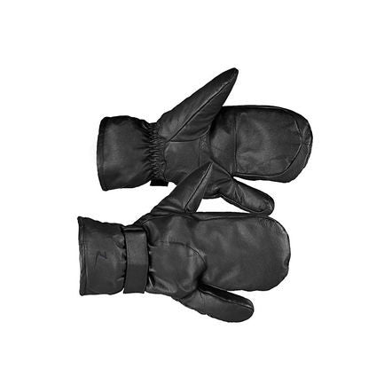 Horze Leather 3-Finger Mittens