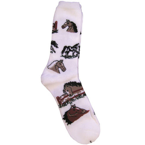Horse Ladies Lover Socks