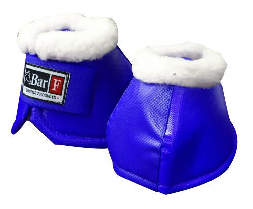 Bar F fleece lined bell boots
