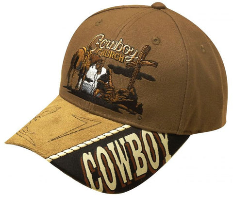 """ Cowboy Church"" baseball hat."