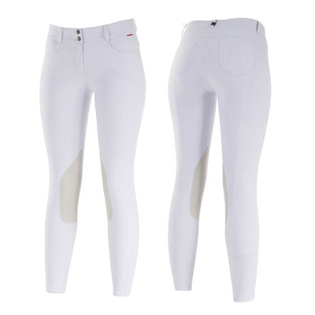 B Vertigo Kimberley Show Leather Knee Patch Breeches