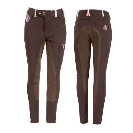 Horze Kids Mackenzie Full Seat Cargo Breeches