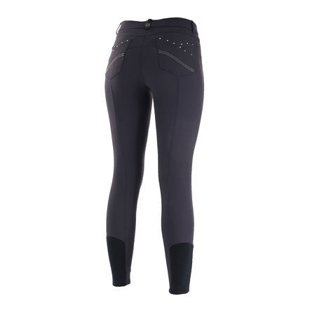 B Vertigo Olivia Women's Silicone Knee Patch Breeches