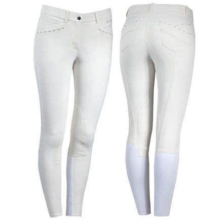 B Vertigo Olivia Luxury Women's Knee patch Breeches