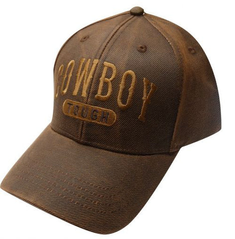 """ Cowboy Tough"" baseball hat."