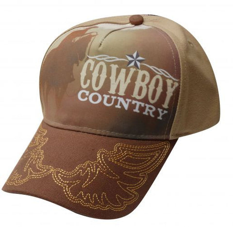 """ Cowboy Country"" baseball hat."